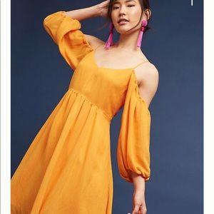 Carina off shoulder dress Anthropologie